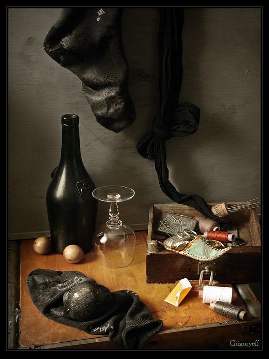 """фото """"Штопать носки"""" метки: натюрморт,"""