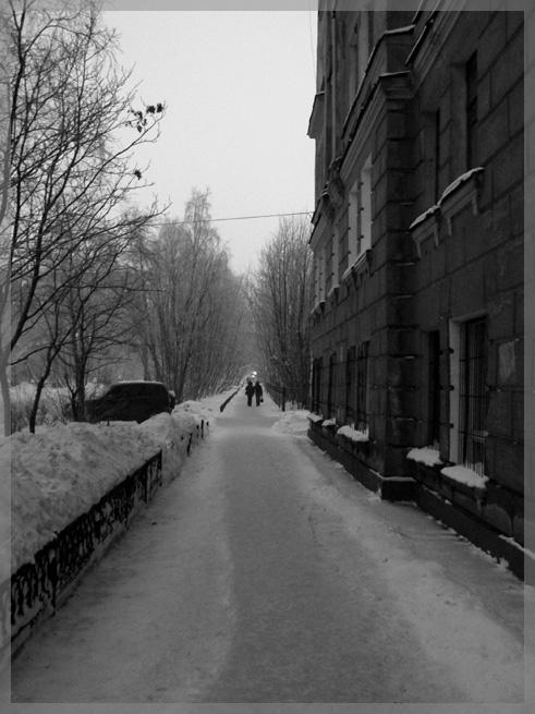 """фото """"...dark town 2..."""" метки: жанр, черно-белые,"""