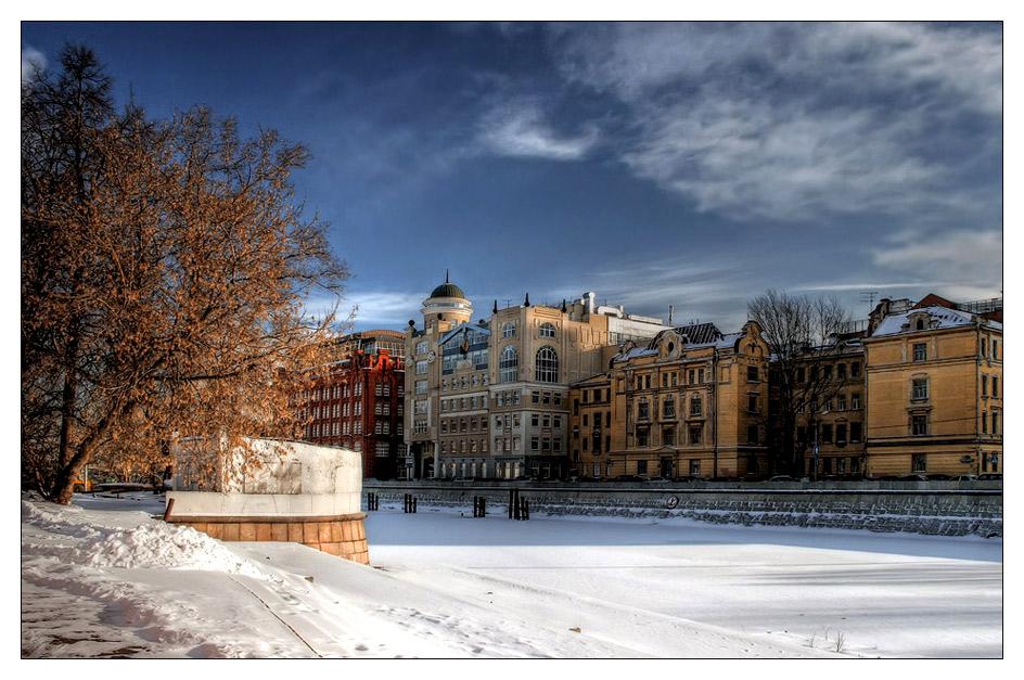 "photo ""Winter"" tags: architecture, landscape, winter"