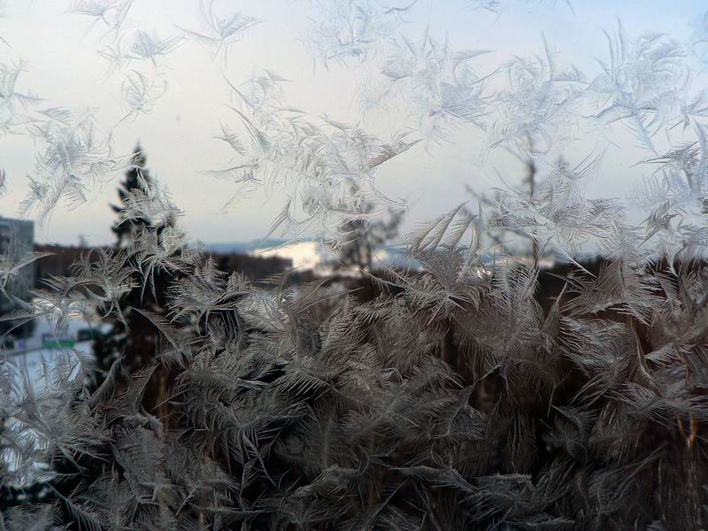 "фото ""Узоры на окнах-2"" метки: пейзаж, природа, зима"