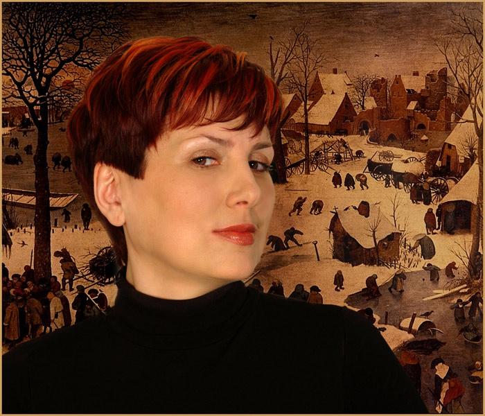 """фото """"в гостях у Питера Брейгеля"""" метки: портрет, жанр, женщина"""
