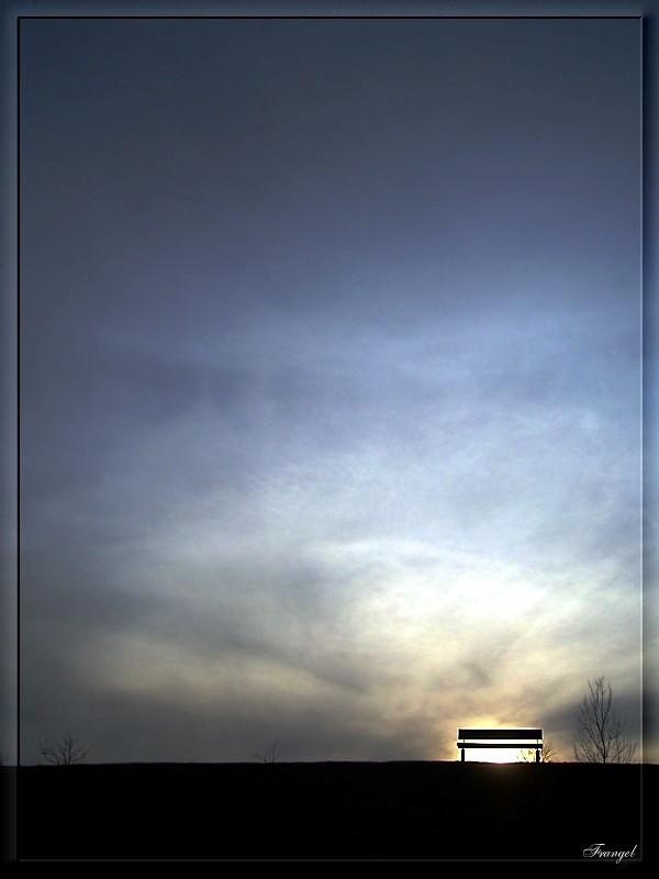 """photo """"Loneliness"""" tags: landscape, genre,"""