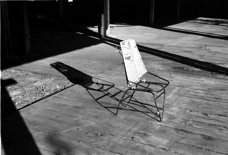 "photo ""Take a seat in the sun"" tags: black&white,"