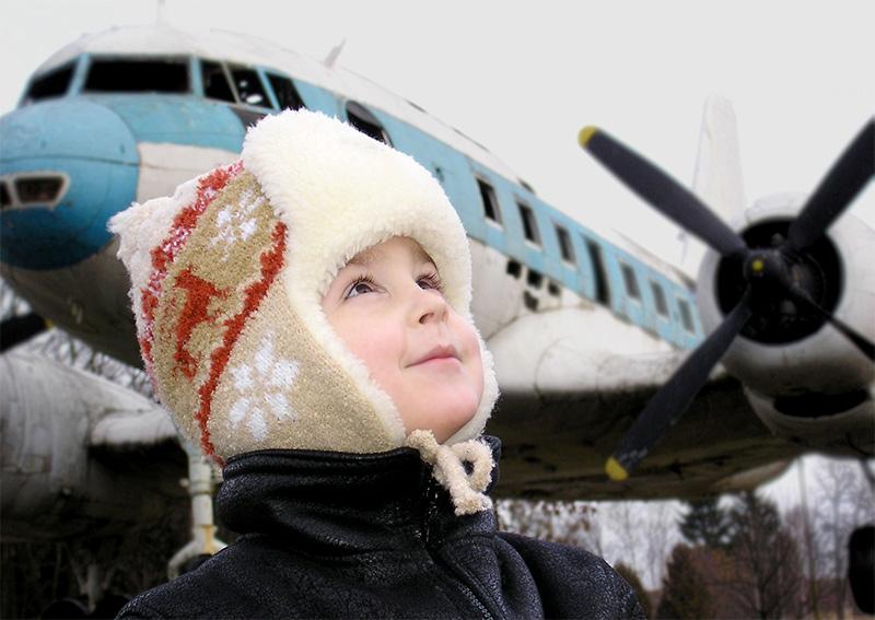 """фото """"Мечта о небе"""" метки: портрет, дети"""