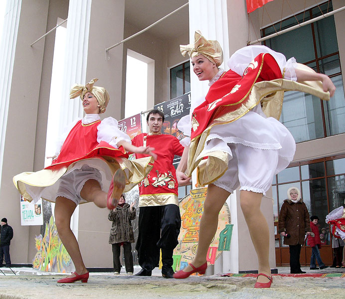 "фото ""Масленица - не вреден русской деве холод!"" метки: жанр,"