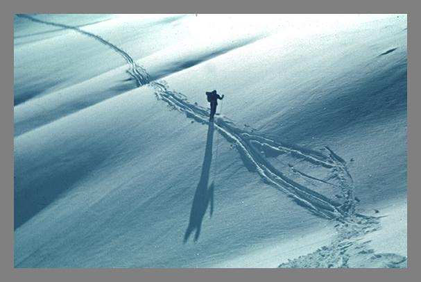 "фото ""Вечереет"" метки: пейзаж, зима"