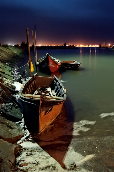 "photo ""Harbour"" tags: landscape, travel, Europe, night"