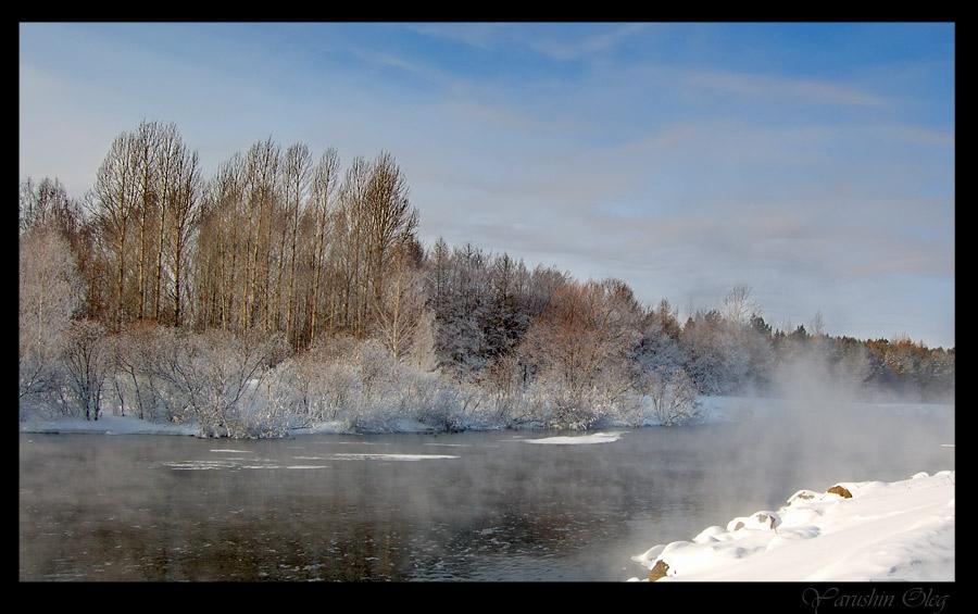 """фото """"незамерзающая..."""" метки: пейзаж, зима"""