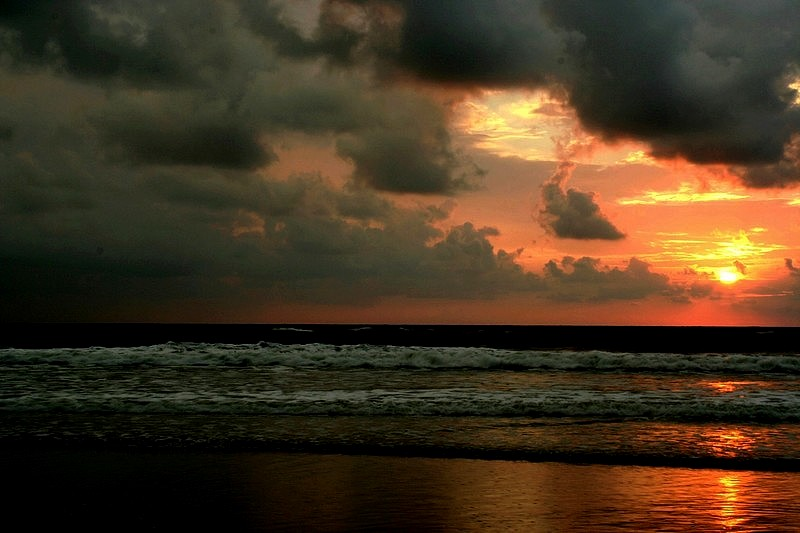 """фото """"The Storm coming"""" метки: пейзаж, закат"""