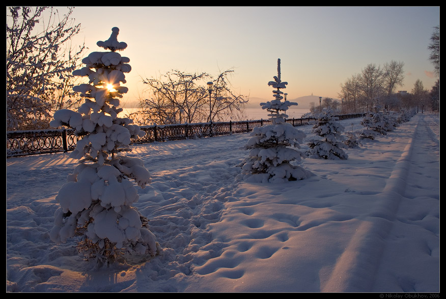 "photo ""City Etude / 0166_0057"" tags: landscape, winter"