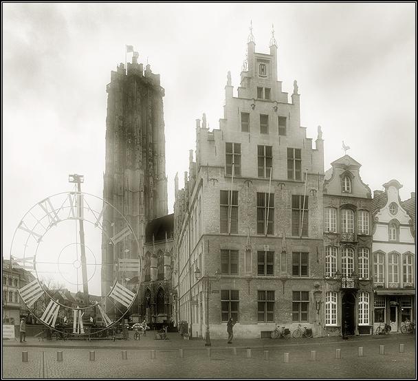 """фото """"Когда часы не нужны"""" метки: архитектура, черно-белые, пейзаж,"""