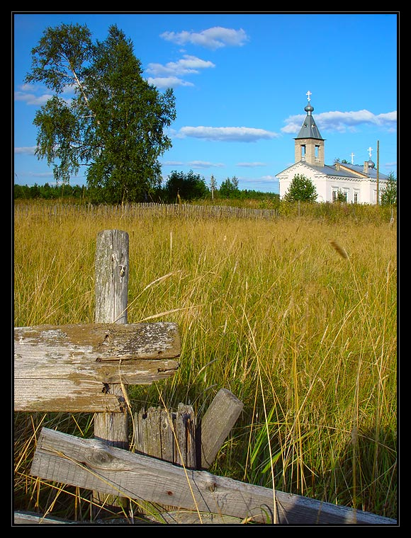 "photo ""Somewhere in Karelia..."" tags: landscape, architecture, summer"