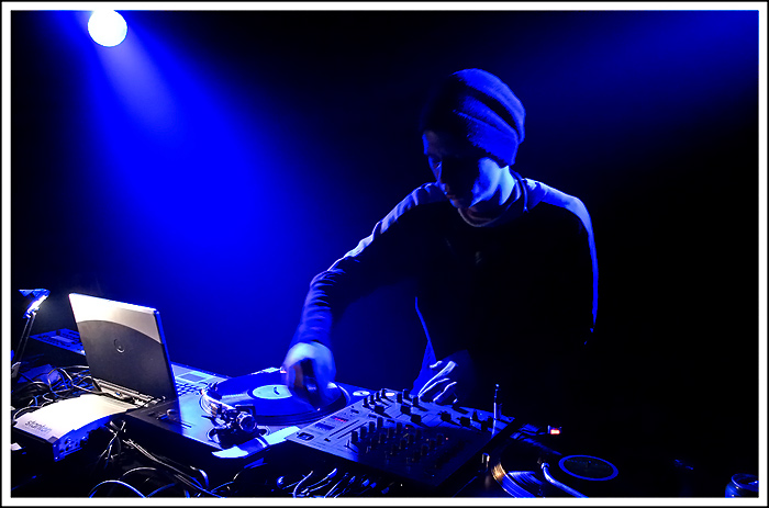 "photo ""DJ Danaja"" tags: portrait,"