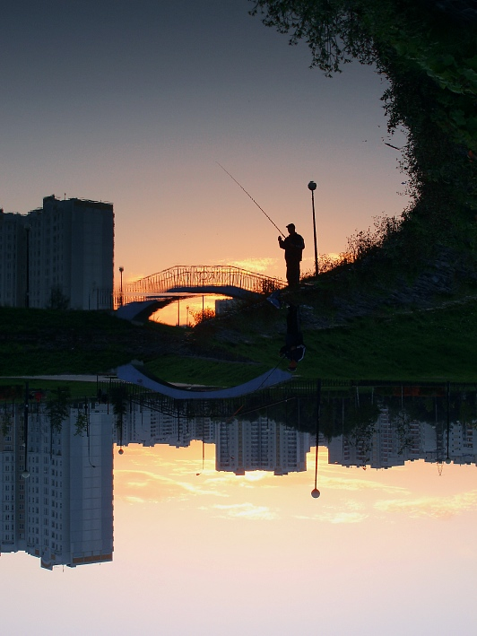 """фото """"Поймать рассвет"""" метки: пейзаж, архитектура, закат"""