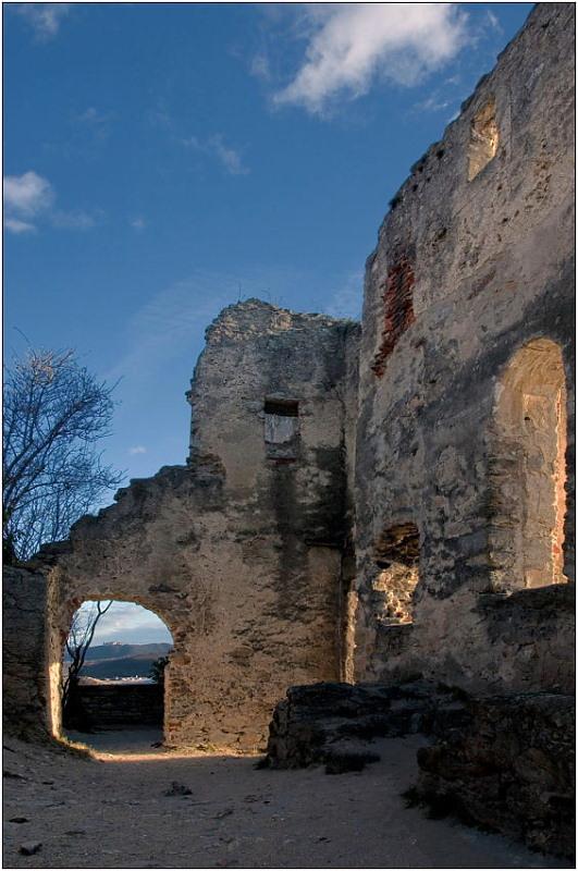 "фото ""Руины Дюрнштайна-2"" метки: архитектура, пейзаж,"