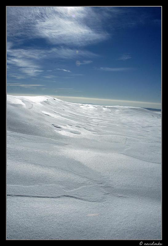 "photo ""The snow sea"" tags: landscape, winter"