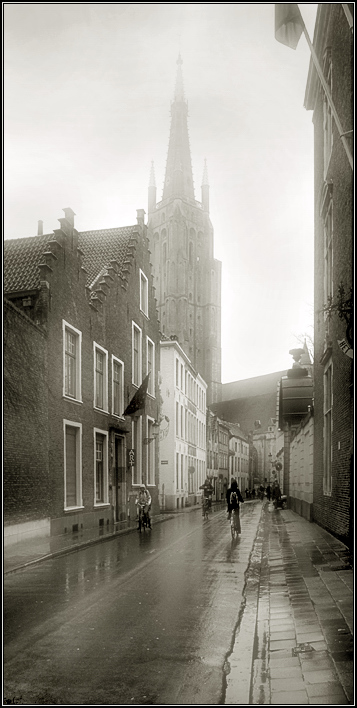"photo ""The Fog City"" tags: architecture, black&white, landscape,"