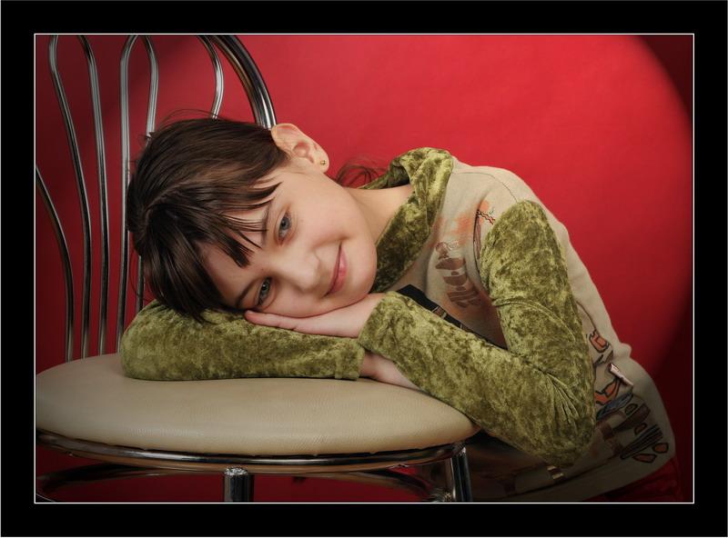 "фото ""Кокетка"" метки: портрет, дети"