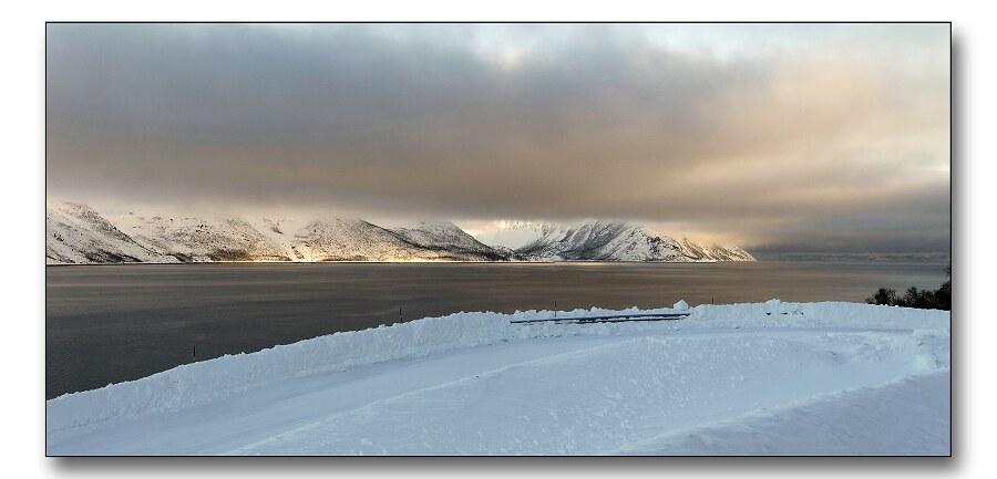 """фото """"Low skies"""" метки: пейзаж, горы, зима"""