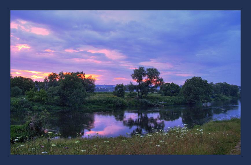 """фото """"Подмосковные вечера-5"""" метки: пейзаж, закат"""