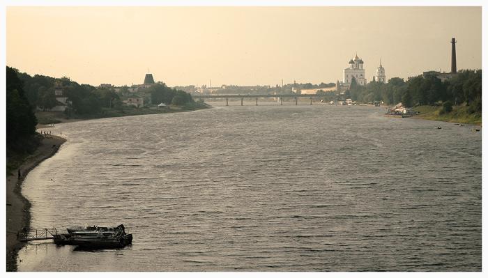 "фото ""река Великая, Псков"" метки: путешествия,"