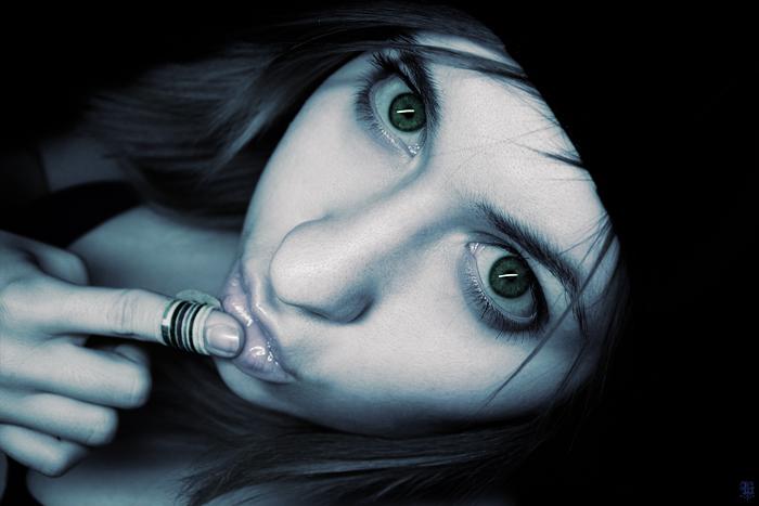 "фото ""dark swimmer"" метки: портрет, женщина"