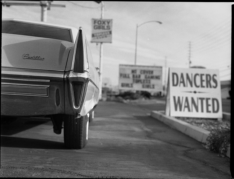 "photo ""Dancers Wanted"" tags: travel, black&white, North America"