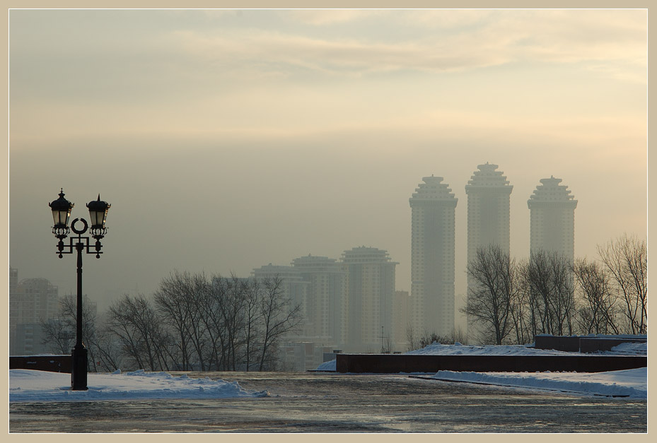"photo ""Icy cold"" tags: architecture, landscape, winter"