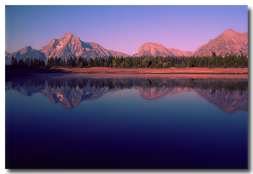 "photo ""Early Morning in Tetons"" tags: landscape, mountains, water"