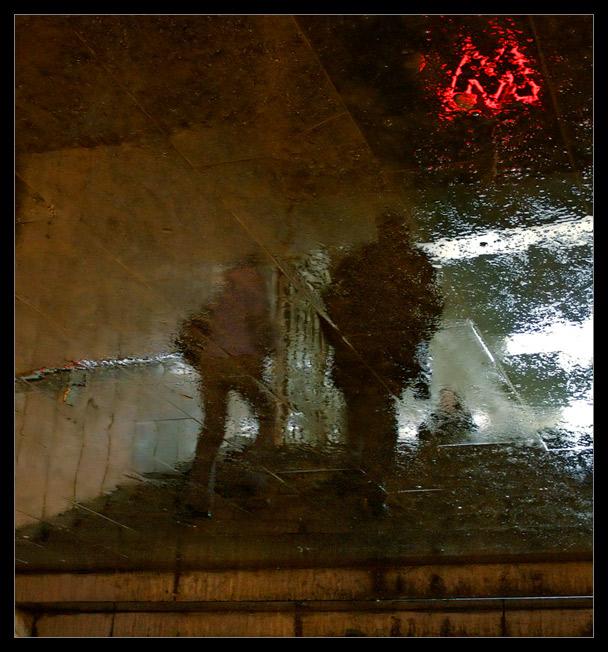 """фото """"Ночное метро"""" метки: ,"""