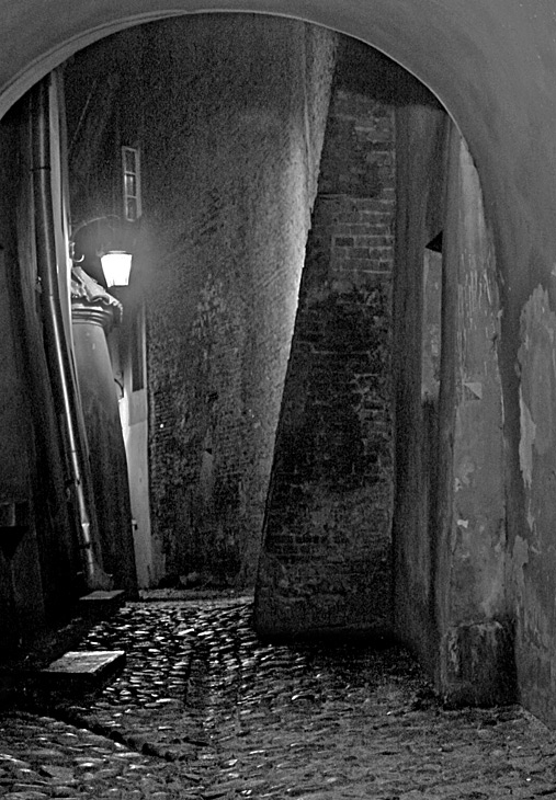 "фото ""Alley"" метки: черно-белые, жанр,"