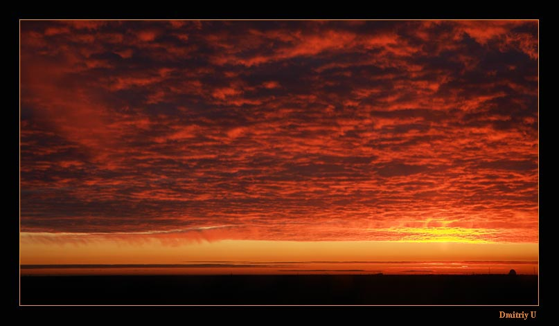 "фото ""На рассвете"" метки: пейзаж, закат"