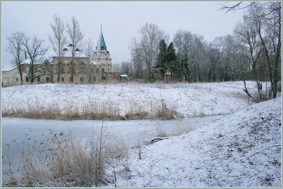 """photo """"Frozen"""" tags: architecture, landscape, winter"""
