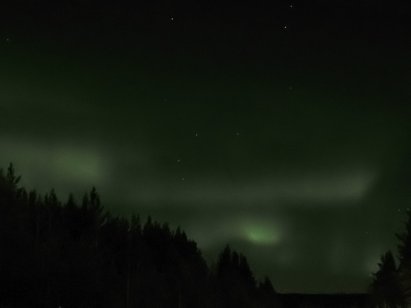 "photo ""Polar lights"" tags: landscape, nature, night"