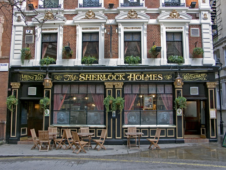 "photo ""The Sherlock Holmes Pub"" tags: still life,"