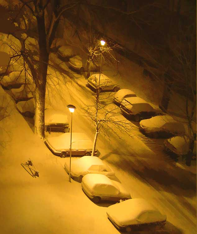 "photo ""Winter Night"" tags: portrait, children"