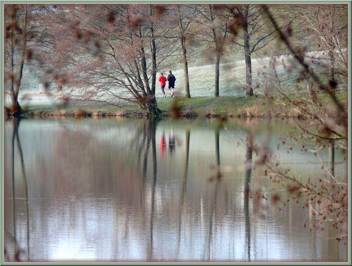 "фото ""Jogging"" метки: пейзаж, репортаж, вода"