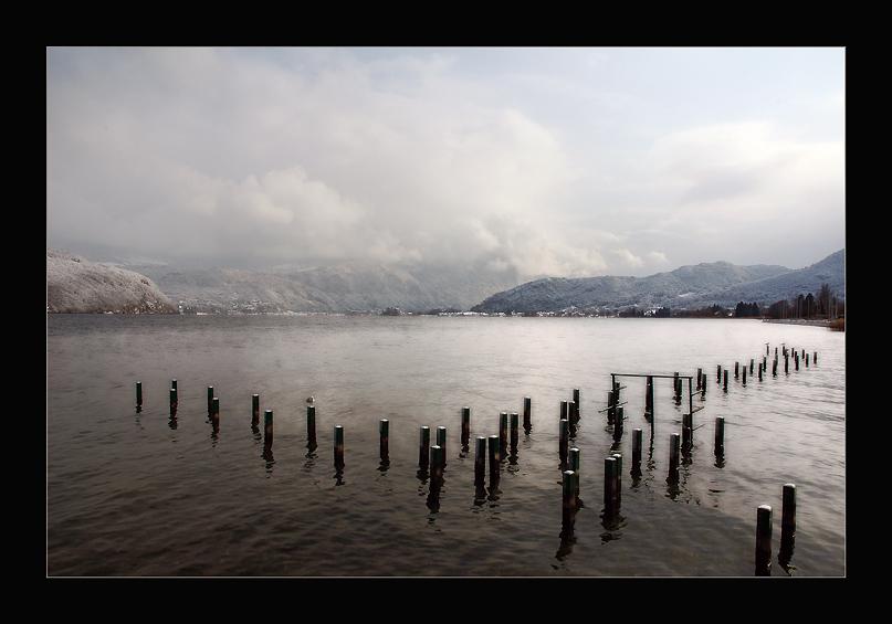 "photo ""Winter light"" tags: landscape, water, winter"