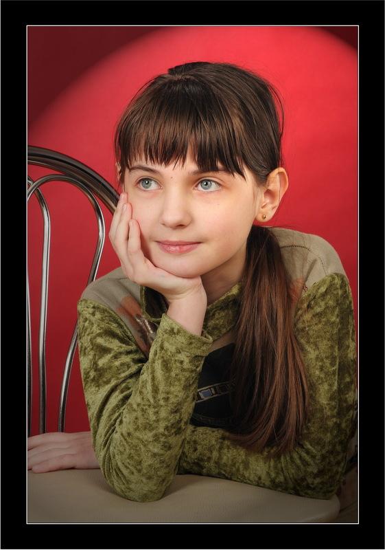 """фото """"В мечтах..."""" метки: портрет, дети"""