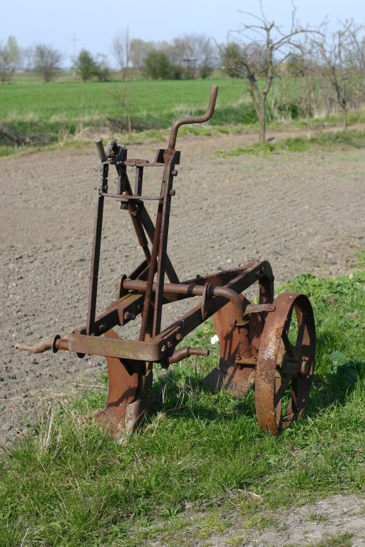 "photo ""...plough..."" tags: technics, travel, Europe"