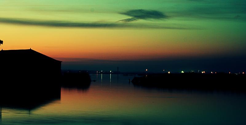 "photo ""Ria Aveiro - Sunset"" tags: landscape, sunset"