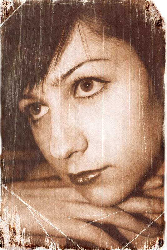 """фото """"Старая фотография"""" метки: портрет, ретро, женщина"""