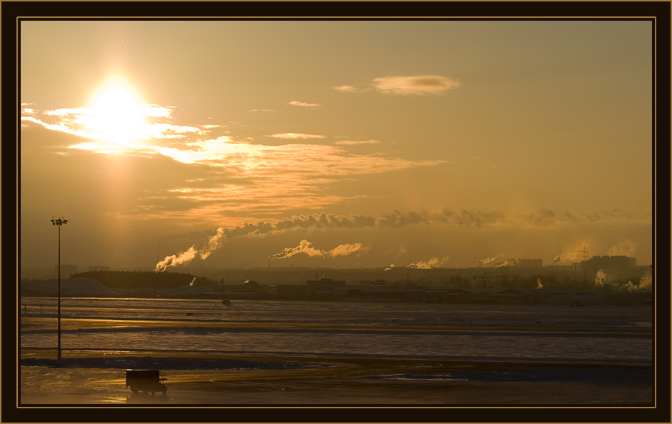 """фото """"golden city"""" метки: пейзаж, закат"""