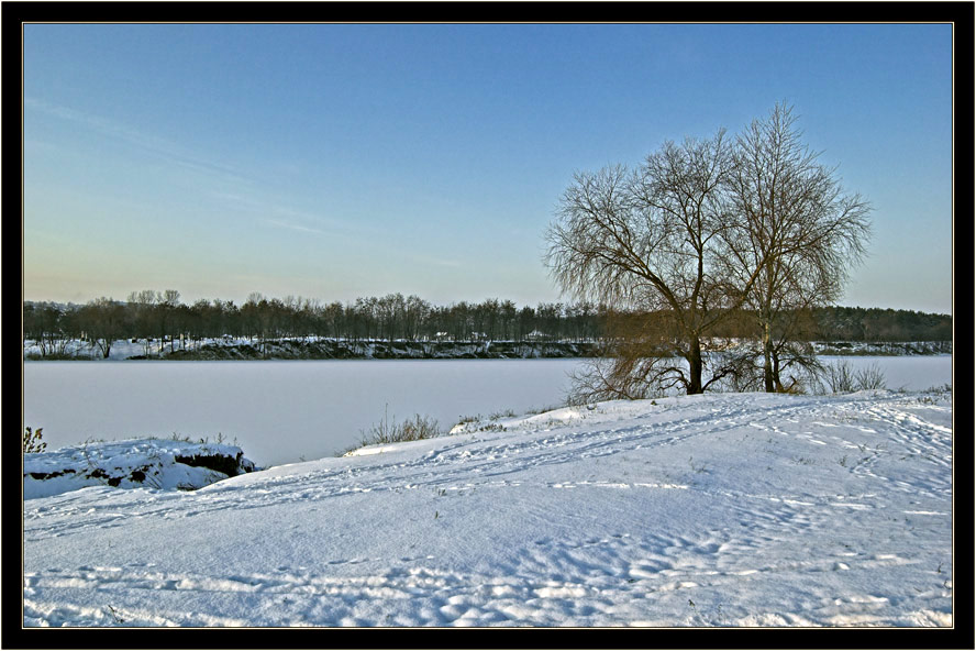 "photo ""White silence"" tags: landscape, winter"