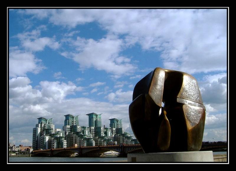 "фото ""Henry Moore Sculpture"" метки: архитектура, путешествия, пейзаж, Европа"