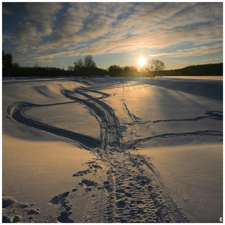 """фото """"morning walk..."""" метки: пейзаж, зима"""