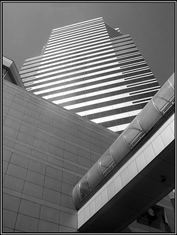 "photo ""Full urbanization"" tags: architecture, black&white, landscape,"