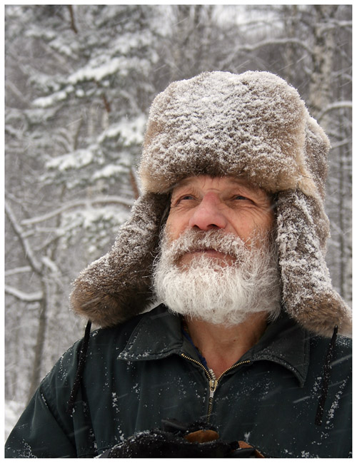 "фото ""Зимняя борода"" метки: портрет, мужчина"