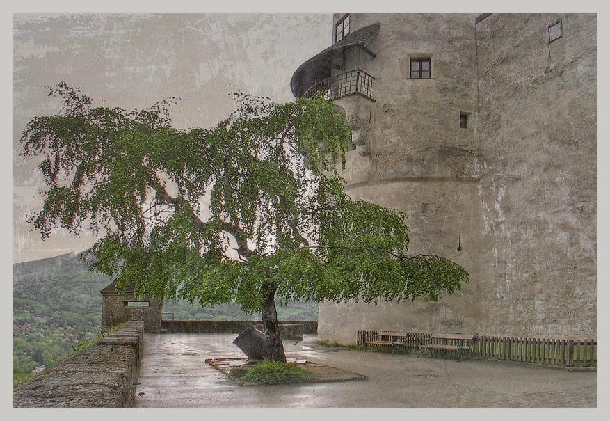 "photo ""Old Castle"" tags: architecture, landscape, mountains"