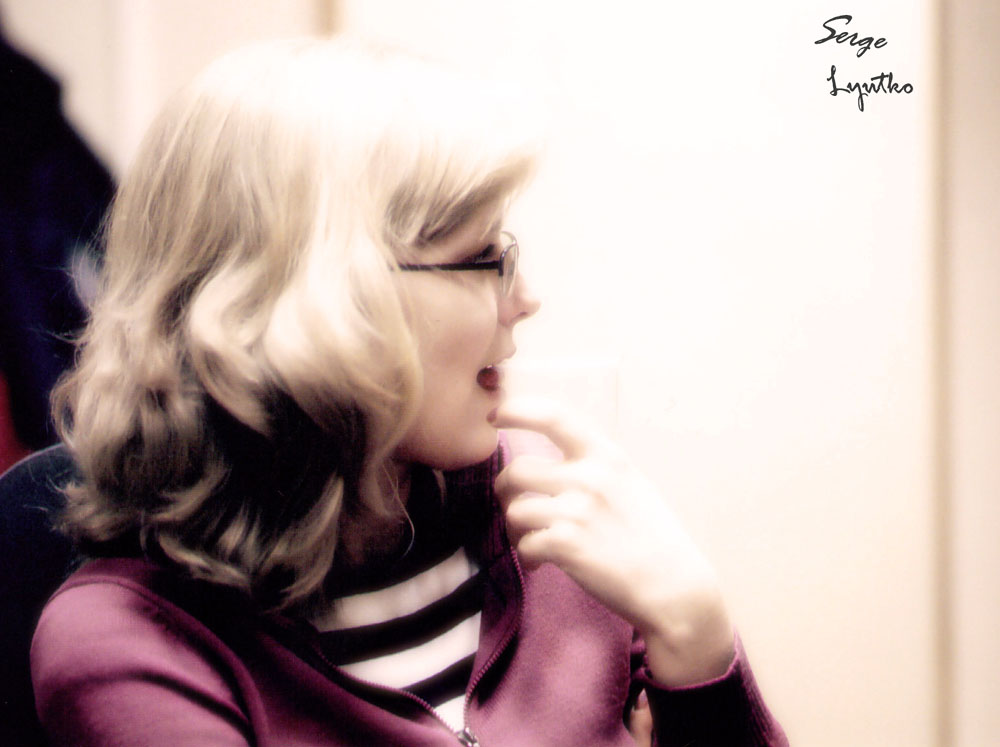 "photo ""Foxy"" tags: portrait, woman"